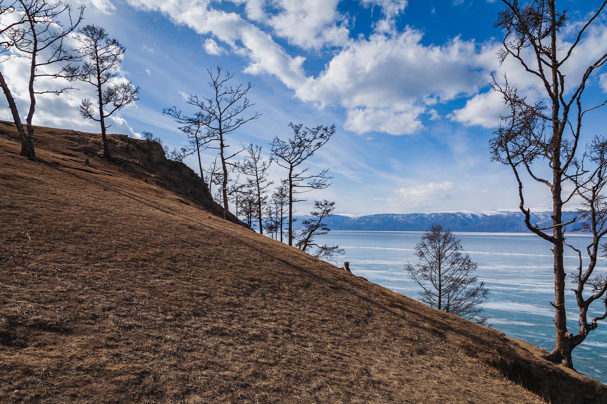 Ранняя весна на Байкале